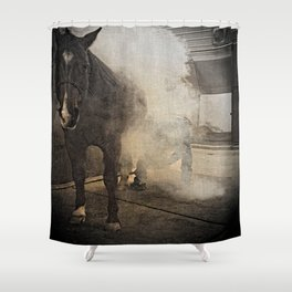 Hot Shoeing Shower Curtain
