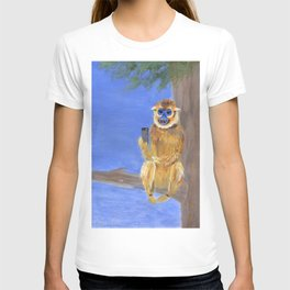 Sammy the Snub Nosed Golden Monkey T-shirt