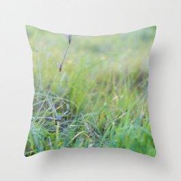 Dewey Pastures Throw Pillow