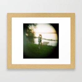 Holga cam Framed Art Print