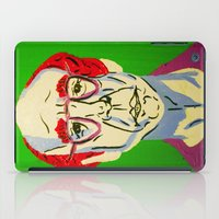 larry david iPad Cases featuring Larry David 2 by Alyssa Underwood Contemporary Art