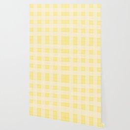 GINGHAM - SUNNY YELLO Wallpaper