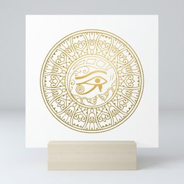 Horus Eye Mandala – Egypt Mini Art Print