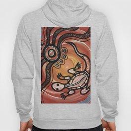 Aboriginal Art - Lizard Hoody