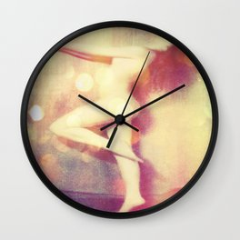 Let Your Hair Down : Nude Wall Clock