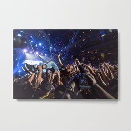 Crowd Surf - B.o.B. Metal Print