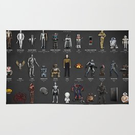 The Evolution Of Robots In Movies Rug