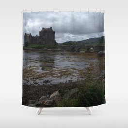 Eilean Donan Castle in Scotland Shower Curtain