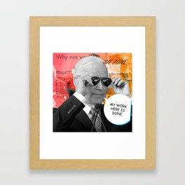Uncle Joe Biden Framed Art Print