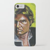 han solo iPhone & iPod Cases featuring Han Solo by Buffalo Bonker