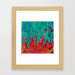 Fire Vs Water Framed Art Print