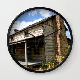 Prairie Grove Battlefield - The Latta Homestead, Established in 1834, No. 1 of 5 Wall Clock