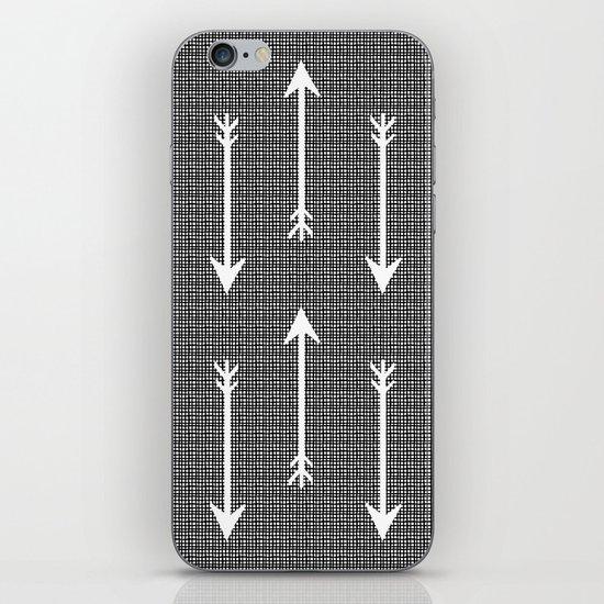 Arrow Sketch iPhone & iPod Skin