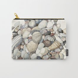 Sea shore of Crete Carry-All Pouch