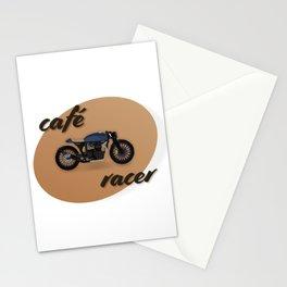 Café racer bike Stationery Cards