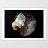 psychology Art Prints featuring Psychology Of Stylistic Change by mofart photomontages