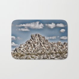 Rock Pile - Painterly Bath Mat