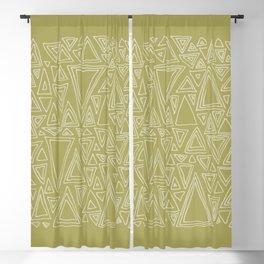 Screw You Ruler Said Triangle Blackout Curtain