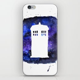 On Our Way to Gallifrey iPhone Skin