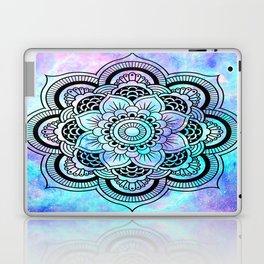 mandala pink lavender aqua galaxy space Laptop & iPad Skin