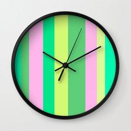 Linens Colours Wall Clock