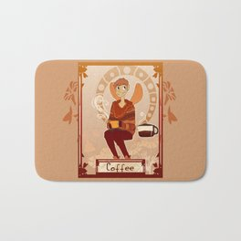 Coffee Fairy Bath Mat