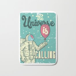 The Universe is calling - Baloon Bath Mat