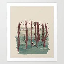 Andrei Tarkovski´s The Sacrifice Illustration Art Print