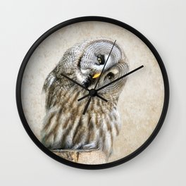 Who? Wall Clock