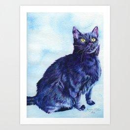 Spot the Cat Art Print
