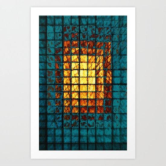 Windows 3 Art Print