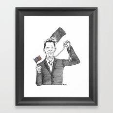 Obamanania Framed Art Print