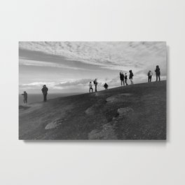 What do You do at the End of the Earth?, 2017 Metal Print