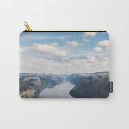 Lysefjorden, Pulpit Rock, Norway Carry-All Pouch
