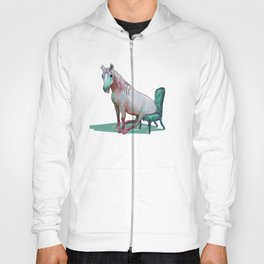 animals in chairs #22 The Unicorn Hoody
