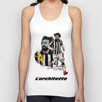 pirlo Tank Tops featuring L'architetto Di Torino by Akyanyme
