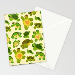 Red-eared slider Stationery Cards