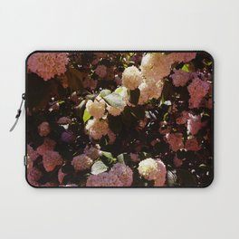 Pink Snowballs II Laptop Sleeve