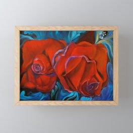Red Roses for my Honey Framed Mini Art Print