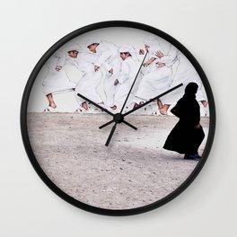 Arabs crossing Wall Clock