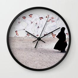 Arabs crossing Wall Clock