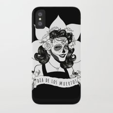 Day of the Dead Slim Case iPhone X