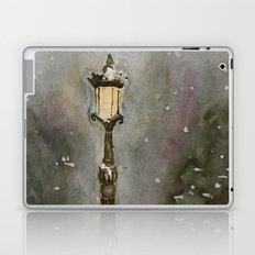 Lamp Post in Blue Laptop & iPad Skin