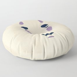 Spirited Away - No Face Minimalist, Miyazaki, Studio Ghibli Floor Pillow