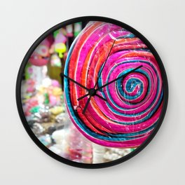 sweet colors Wall Clock