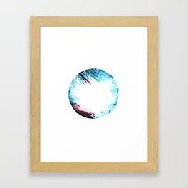 Circle of Flame Framed Art Print