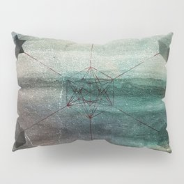 Platonic Solids Pillow Sham