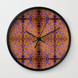 Starry Pop Wall Clock