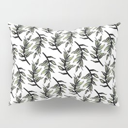 Greenery : Leaf Pattern - Katrina Niswander Pillow Sham