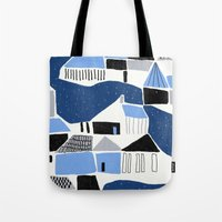 iceland Tote Bags featuring iceland by frameless